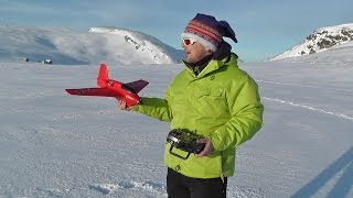 Rc Planes in Arctic Environment - First Outdoor Flying in 2015