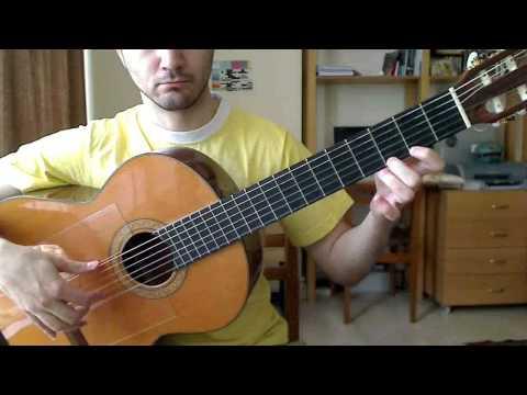 Paco de Lucia --- Entre dos Aguas (Guitar Tutorial)