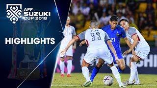 Thi đấu quả cảm, Philippines giành 1 điểm quý giá trước Thái Lan | VFF Channel
