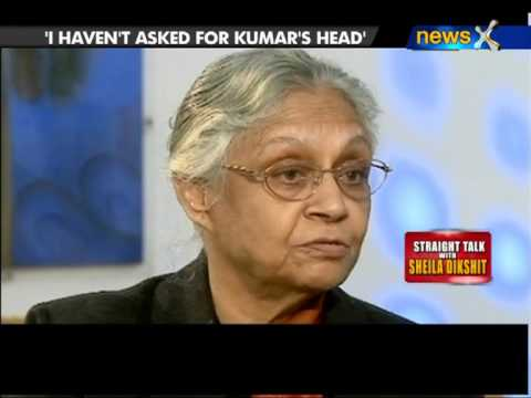 Straight talk with Shiela Dikshit - NewsX