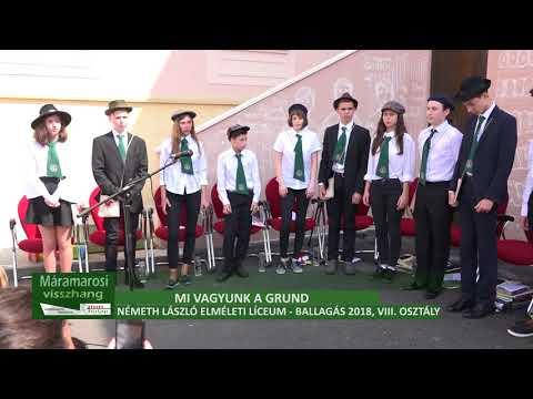 Mi vagyunk a Grund - Németh László Elméleti Líceum, VIII. osztályosok Ballagási ünnepsége