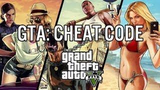 GTA 5 : tous les codes triche PS3/XBOX 360