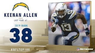 #38: Keenan Allen (WR, Chargers) | Top 100 Players of 2019 | NFL