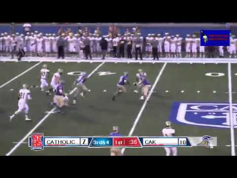 Christian Academy of Knoxville #45 Michael Thompson 74 yd TD