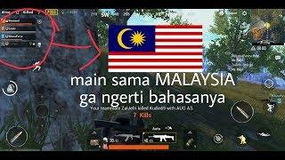 Main sama orang MALAYSIA , endingnya Sedih !!!! PUBG Mobile