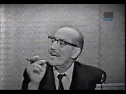 Groucho Marx - Mystery Guest on What's My Line?