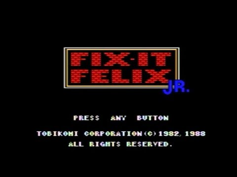 Mega Drive Longplay - Fix-It Felix Jr. MD