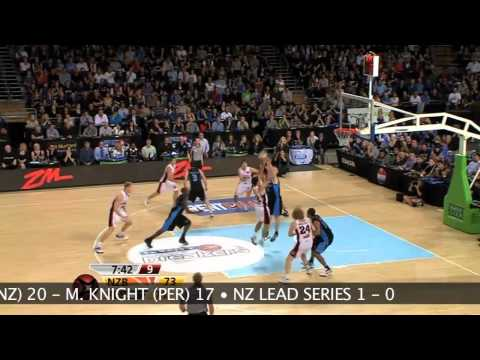 iiNet NBL Grand Final Series - Game One - New Zealand Breakers v Perth Wildcats
