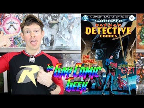 Detective Comics #965 Review - Tim Drake aka Red Robin is Back - MAJOR SPOILERS