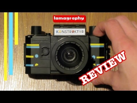 Lomography Konstruktor 35mm Film Photography Review