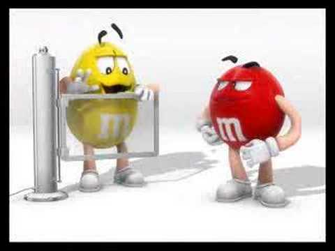 M&M's rentgen - YouTube