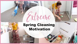 EXTREME SPRING CLEANING MOTIVATION 2018 | Tiana-Rose