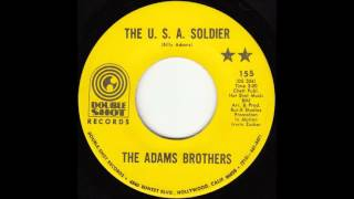 The Adams Brothers - The U.S.A. Soldier
