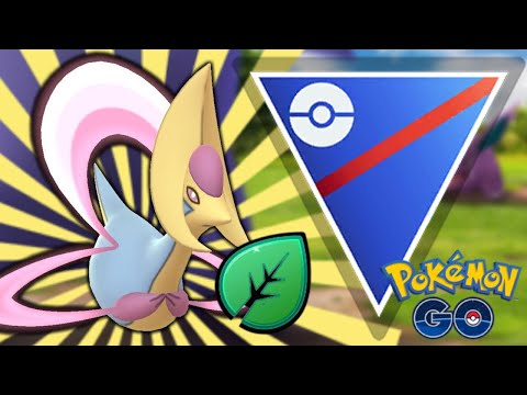 GRASS KNOT CRESSELIA IN GO BATTLE LEAGUE! | Pokemon GO