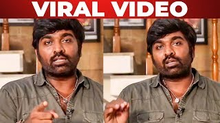 Vijay Sethupathi Latest Video!!!