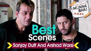 Sanjay Dutt And Arshad Warsi Best Scenes | Munna Bhai M.B.B.S. | Boman Irani