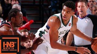 Milwaukee Bucks vs Portland Trail Blazers Full Game Highlights | 11.06.2018, NBA Season