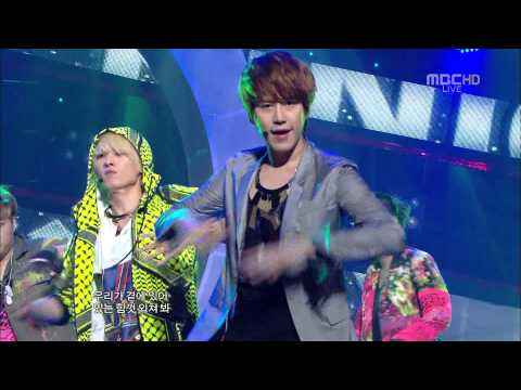 [full Hd] Super Junior superman & mr. Simple  2011.08.06 - Comeback Stage [110806] video