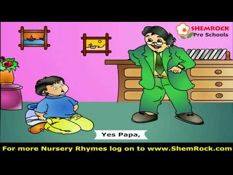 Nursery Rhymes Johnny Johnny Yes Papa Songs With Lyrics For Preschool Kids video
