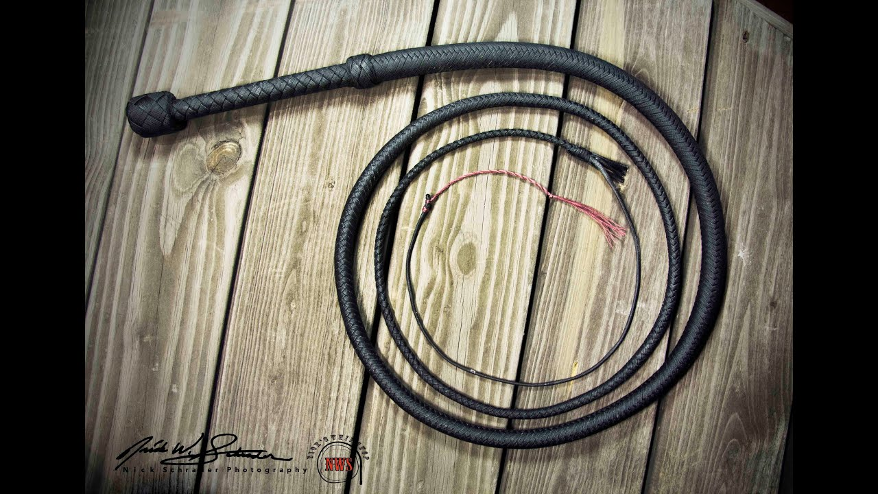 Nylon Bullwhip Stock Whip Cow