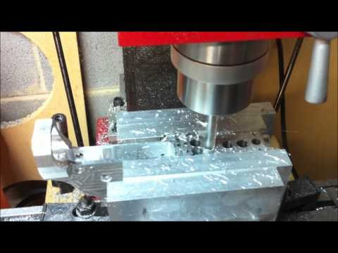 CNC Milling an AR-15 Receiver From Scratch Chapter 7: Magwell and Buffer Tube