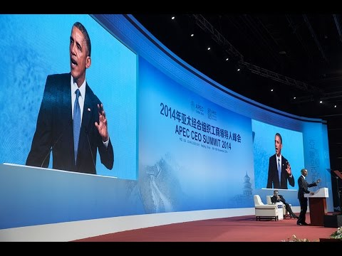 President Obama Delivers Remarks at the APEC CEO Summit