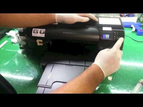 HP PRO 8100 com Bulk Ink - Procedimentos de Instalacão e Uso - SULINK