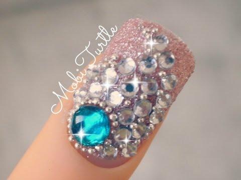 Diamond Necklace Style Nail