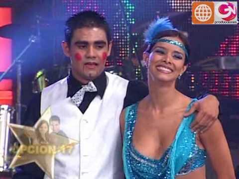 Baile Charleston: Maricielo Effio y Charles Ramírez (Reyes del Show PERU 12-12-09)
