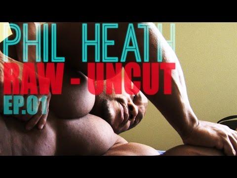 Phil Heath Raw Uncut Episode 1   Deep Tissue Massage And Rehab