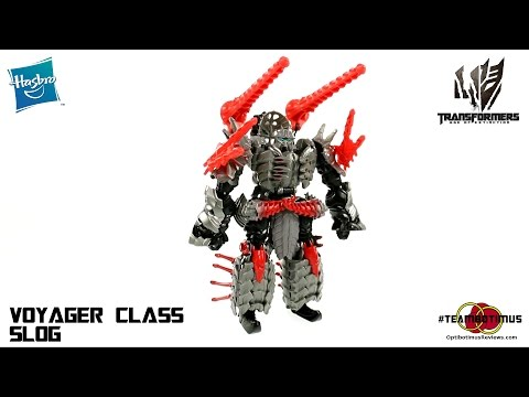 Video Review of the Transformers Age of Extinction: Voyager Class Slog