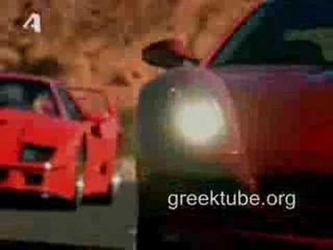 Промо Ferrari F40 vs Ferrari 599 GTB Fiorano