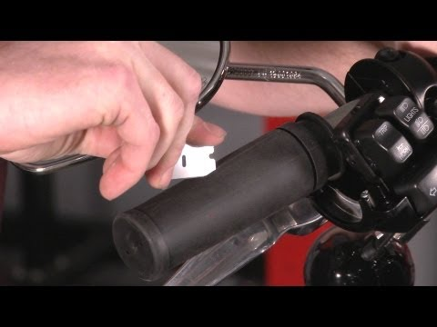 Motorcycle Grips - How to replace grips on a Harley-Davidson by J&P Cycles