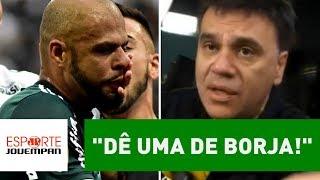 """Mauro Beting IMPLORA a FELIPE MELO: """"dê uma de BORJA!"""""""