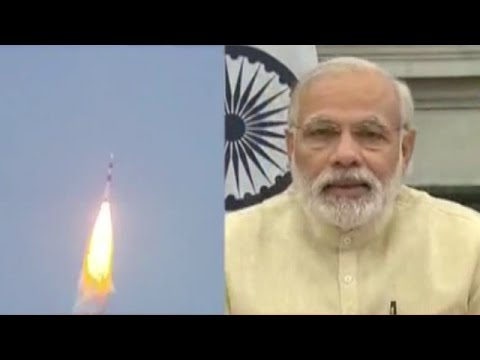PM Modi Addresses the Nation as ISRO Launches IRNSS-1G Navigation Satellite Successfully