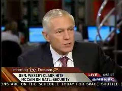 "Wes Clark on ""Morning Joe"" takes on McCain and defends Obama"