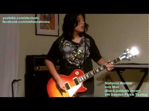 Stefanos Alexiou - Iron Man by Black Sabbath (Tony Iommi Guitar cover)