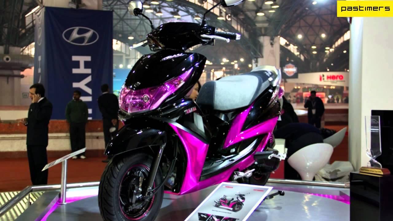 Ray Price Honda >> The New Yamaha Gearless Scooter Ray - YouTube