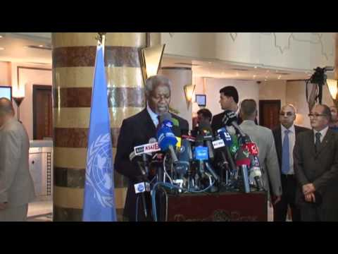 Envoy Annan 'horrified' by Syria Massacre