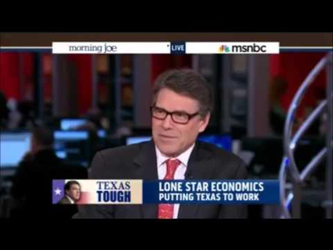 Texas Gov. Rick Perry on MSNBC's Morning Joe