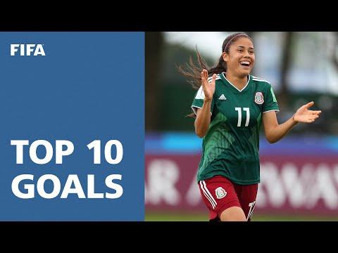 TOP 10 GOALS - FIFA U20'S WOMEN'S WORLD CUP 2018