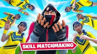 Skill Matchmaking has RUINED Fortnite...
