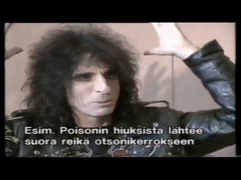 Alice Cooper interview -91