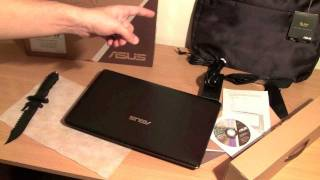 Asus K53S J Laptop Core i5 Sandy Bridge Unboxing and Hands On