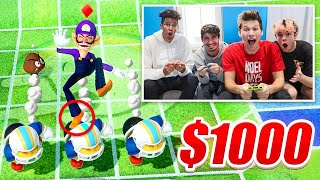 Whoever WINS MARIO PARTY gets $1000!