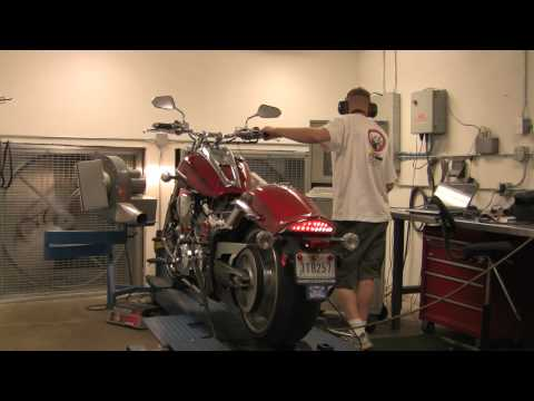 Yamaha Raider Dyno Movie, Power Commander 5, PCV Tuning Video