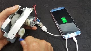 How to make Hand Power USB Charger