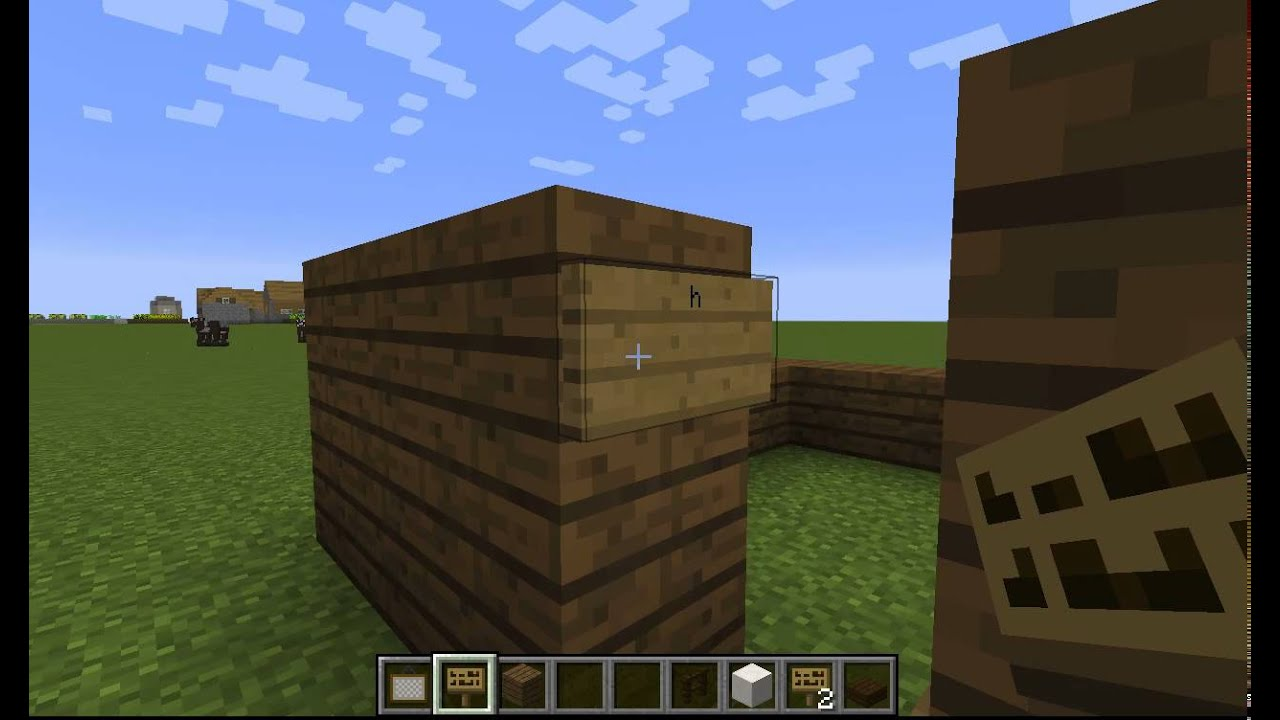 how to go through paintings in minecraft