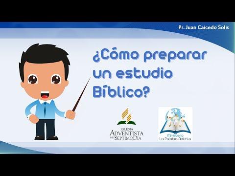 Cómo Realizar Un Estudio Bíblico