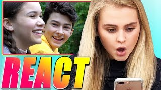 "Ivey REACTS to ""Perfect For Me"" by Haschak Sisters!"